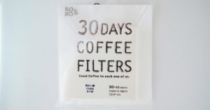 30days coffee filters