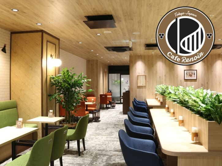 Cafe Renoir 店内