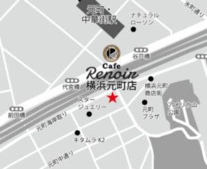 Cafe Renoir map