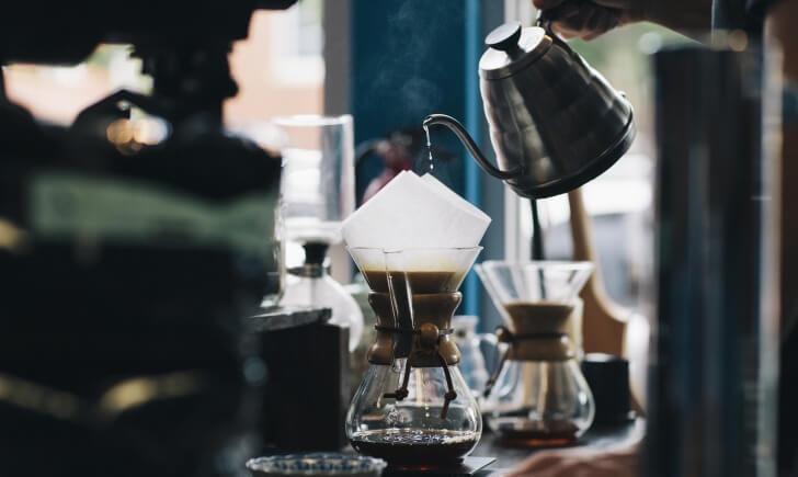 コーヒーは淹れ方で味が変わる!