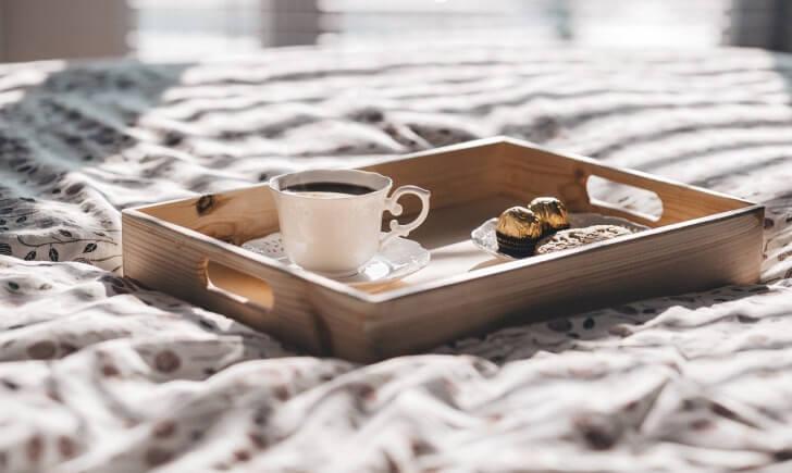 コーヒーにチョコレートを合わせて贅沢なブレイクタイムに!